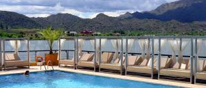 The swimming pool at or near Hotel Potrero De Los Funes