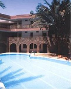 The swimming pool at or near Le Tichka Ouarzazate