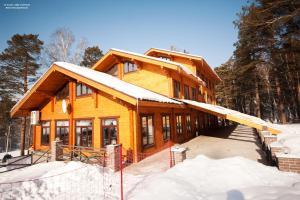 Отель Шале зимой