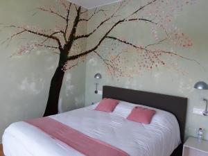 Een bed of bedden in een kamer bij Casa Lamberdina