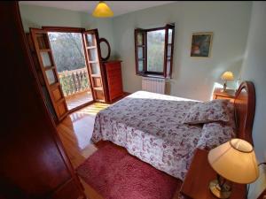 Cama o camas de una habitación en La Riega I
