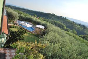 Vista sulla piscina di Tenuta Fortelongo o su una piscina nei dintorni