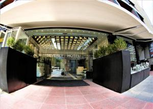 The lobby or reception area at Beverly Hotel Beirut