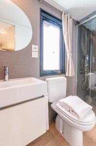 Ein Badezimmer in der Unterkunft Camping Village Du Parc
