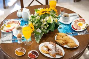 Επιλογές πρωινού για τους επισκέπτες του Paralia Beach Boutique Hotel