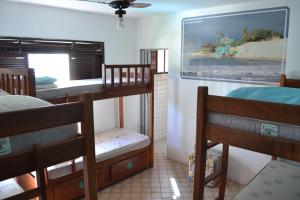 A bunk bed or bunk beds in a room at Get Up Hostel