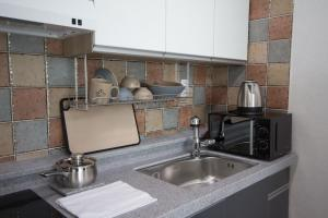 A kitchen or kitchenette at Hallstatt