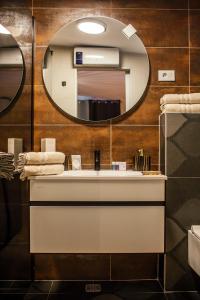 A bathroom at Apartments Nora