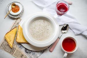 Завтрак для гостей Апарт-отель Вертикаль