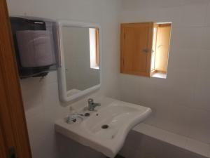 A bathroom at Casón Salto de Roldán