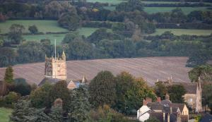 A bird's-eye view of Forthay Bed and Breakfast