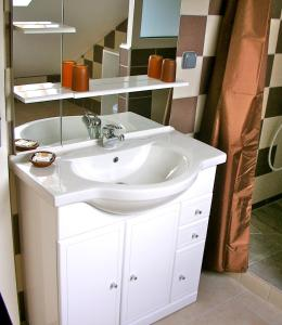 A bathroom at Hotel Cap Sud