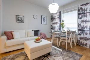Oleskelutila majoituspaikassa Tuomas´ luxurious suites, Kaakkuri