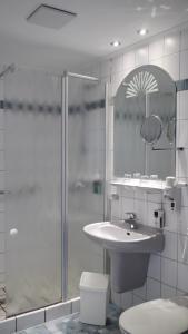 A bathroom at Hessen Hotelpark Hohenroda