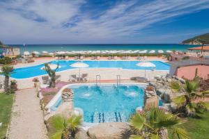 A view of the pool at Hotel Del Golfo or nearby