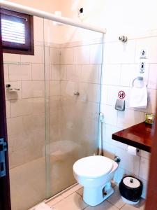 A bathroom at Hotel e Pousada La Dolce Vita