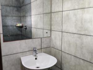 A bathroom at Holiday Village