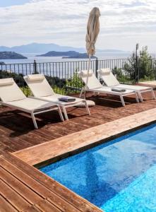 Πισίνα στο ή κοντά στο Skiathos Gea Villas