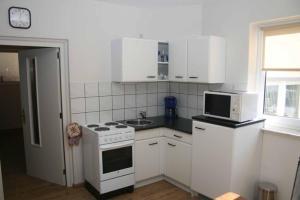 Küche/Küchenzeile in der Unterkunft TopLokatie Sauerland