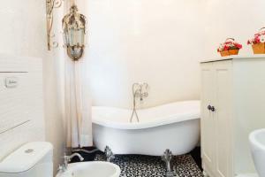 Ванная комната в Апарт-отель Даудель Тюмень Центр