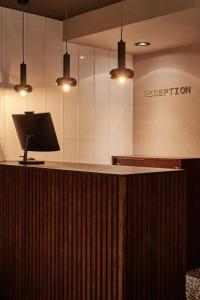 The lobby or reception area at Cosmo Hotel Boutique