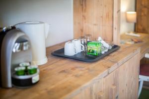 Koffie- en theefaciliteiten bij Boutique Hotel 't Klooster