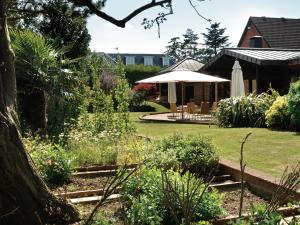 A garden outside Fredrick's Hotel Restaurant Spa