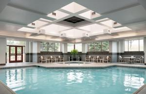 The swimming pool at or near Colorado Springs Marriott