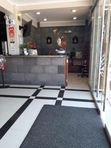 The lobby or reception area at Hotel Spa Machupicchu