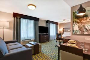 A seating area at Homewood Suites by Hilton Lake Buena Vista