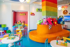 The kid's club at Rixos The Palm Hotel & Suites - Ultra All Inclusive