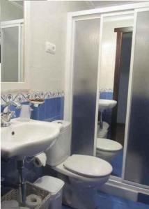 A bathroom at Casa Jesús Turismo Rural