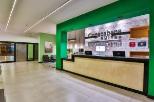 The lobby or reception area at Copacabana Suites by Atlantica Hotels