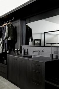 A kitchen or kitchenette at The Bower Byron Bay