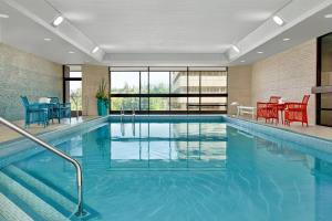The swimming pool at or near Delta Hotels by Marriott Calgary Downtown