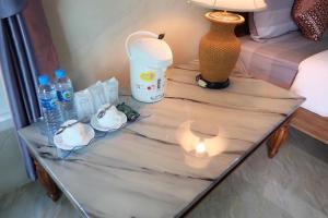 Ein Badezimmer in der Unterkunft Coral Resort