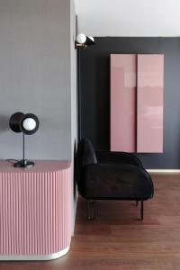 Zona de estar de La Suite Matera Hotel & Spa