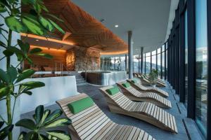 Bazén v ubytovaní Hotel SOREA SNP alebo v jeho blízkosti