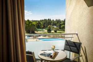 A view of the pool at Valamar Parentino Hotel - ex Zagreb or nearby