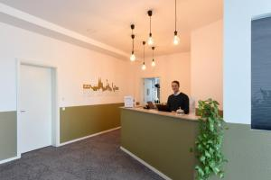 The lobby or reception area at K-Apart Hotel & Boardinghouse