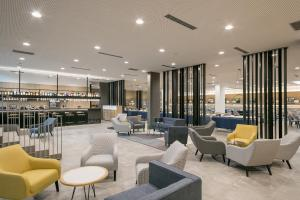 The lounge or bar area at Acta Voraport