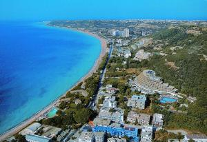Widok z lotu ptaka na obiekt Caravel Hotel Apartments