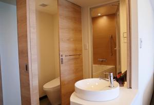 ノボテル沖縄那覇にあるバスルーム