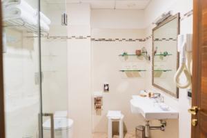 A bathroom at Park Hotel Argento