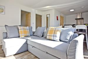 A seating area at Wheal Rose, Wheal Dream Resort