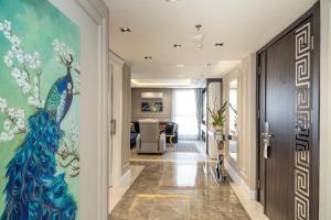The lobby or reception area at Ramada by Wyndham Sofia City Center
