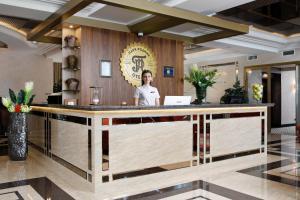 Лобби или стойка регистрации в Отель Парк Родник