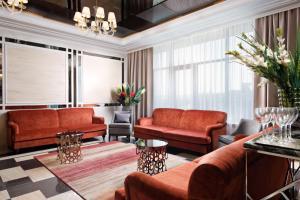 Гостиная зона в Отель Парк Родник