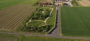 Vista aerea di La Casa di Campagna