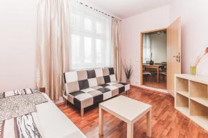 Posezení v ubytování Hostel u Arény